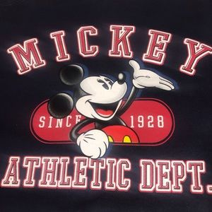 VTG Disney Mickey Mouse Navy Blue Sweater Sz Large